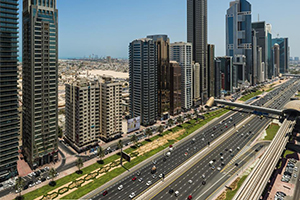 Sejk Zajed út Dubaj