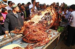 Tömött tevehús