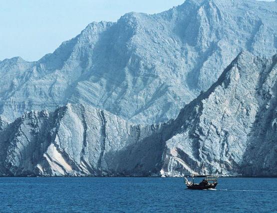 ománi fjordok