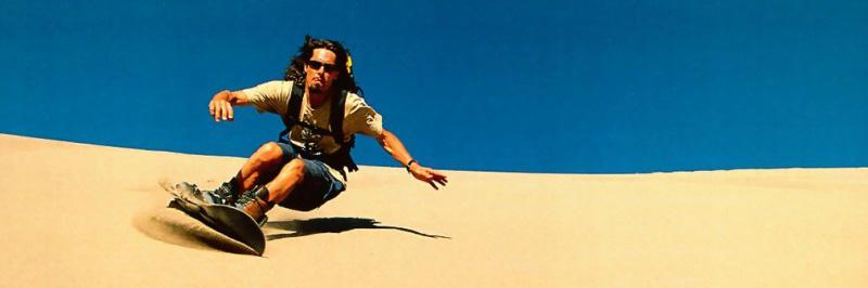 Sandboarding homok deszka dubaj