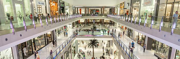 dubaj bevásárlóközpont