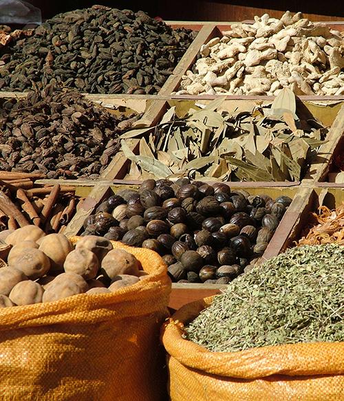 dubaj fűszerpiac